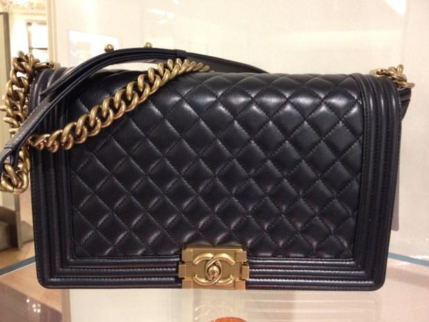 Chanel-Medium-Boy-Bag-with-Gold-Hardware-Prefall-2014