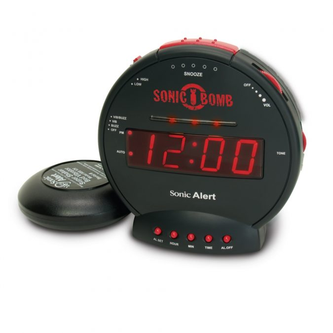 Loud Alarm Clock Heavy Sleepers