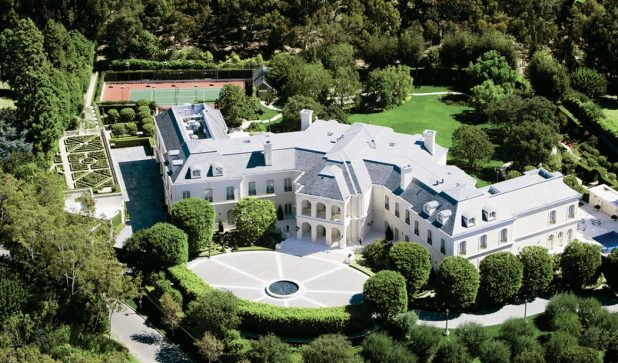 The Manor mansion