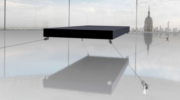 magnetic-floating-bed