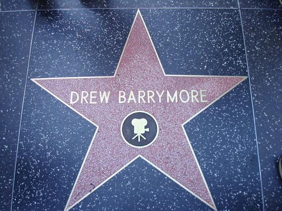 Drew-Barrymore-Hollywood-walk-of-fame-Star