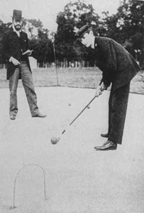The 1900 Olympic croquet tournament