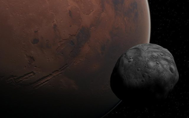 Phobos-and-Mars