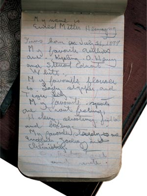 hemingway-notebooks