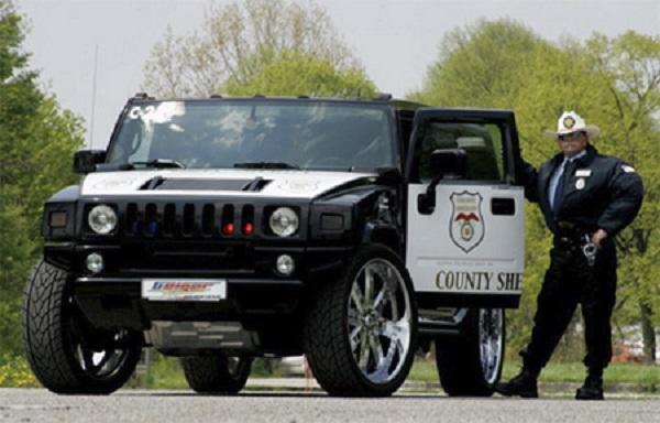 Police Car Hummer