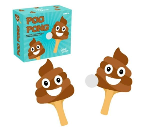 Poo-Pong Paddles