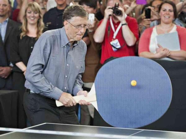 Oversized Pin-Pong paddle