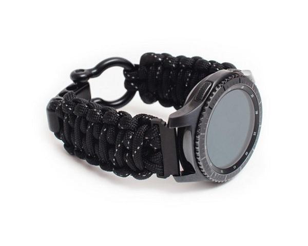 FireLine Paracord Smartwatch Band