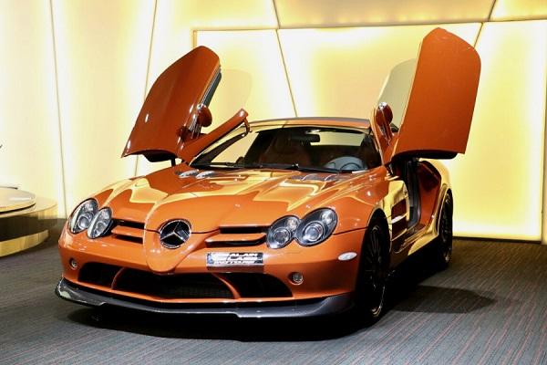 Mercedes-Benz SLR McLaren Roadster 722