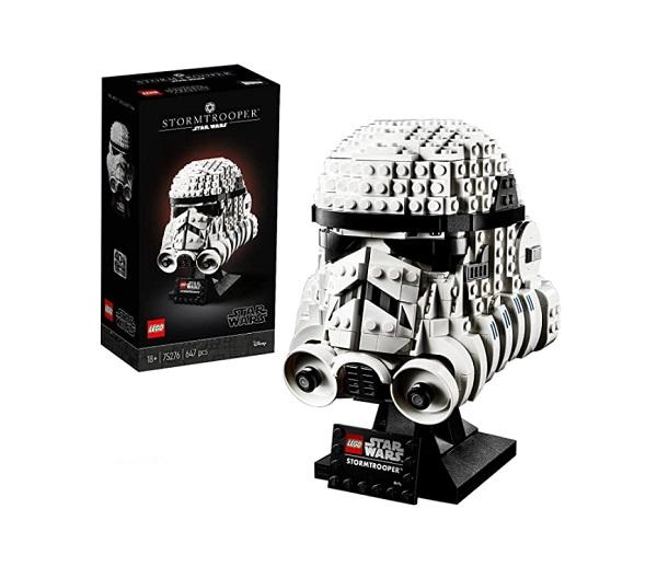 LEGO Star Wars Stormtrooper Helmet Display