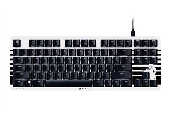 Razer Lite TKL Tenkeyless Stormtrooper Mechanical Keyboard