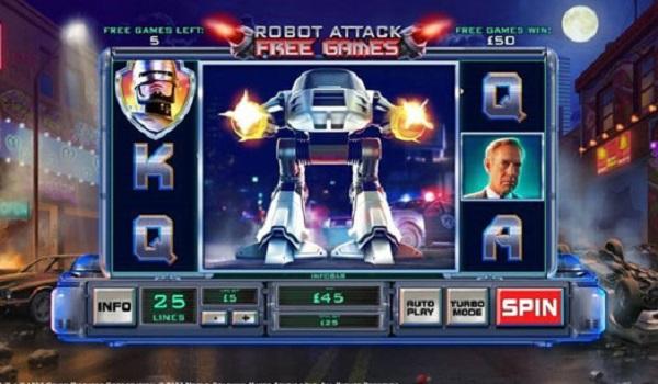 Robocop Video Slots
