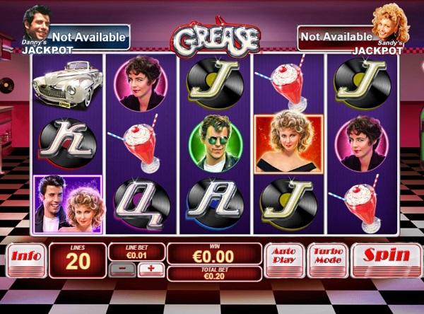 Grease Video Slots