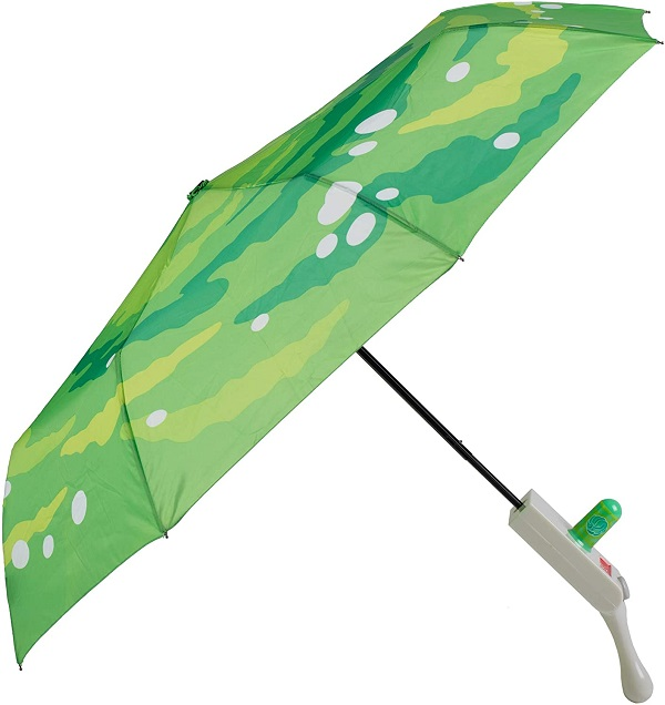 Portal Rick and Morty Umbrella with Molded Handle