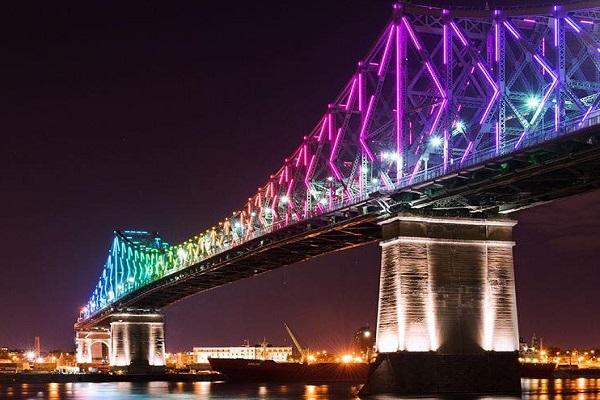 Jacques Cartier Bridge, Canada