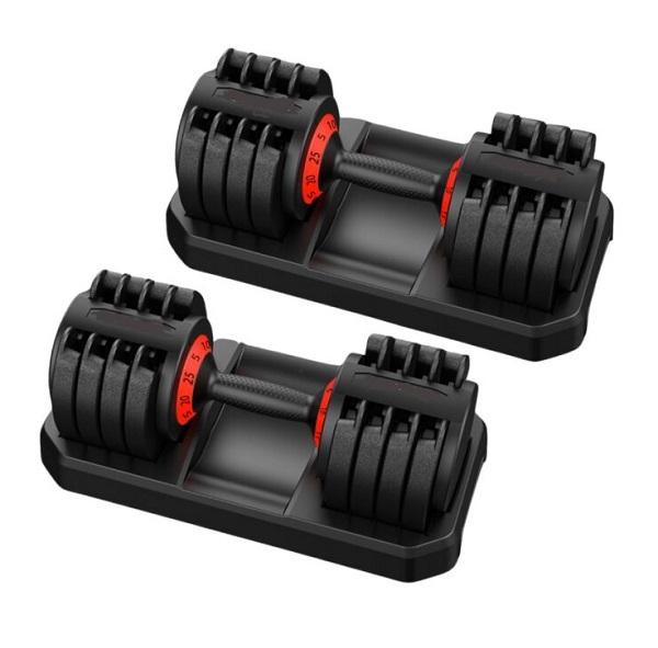 TCTNT 25KG Adjustable Dumbbells