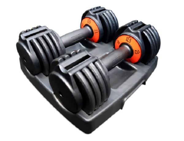 GRIT Elite 12.5 lbs Adjustable Dumbbells
