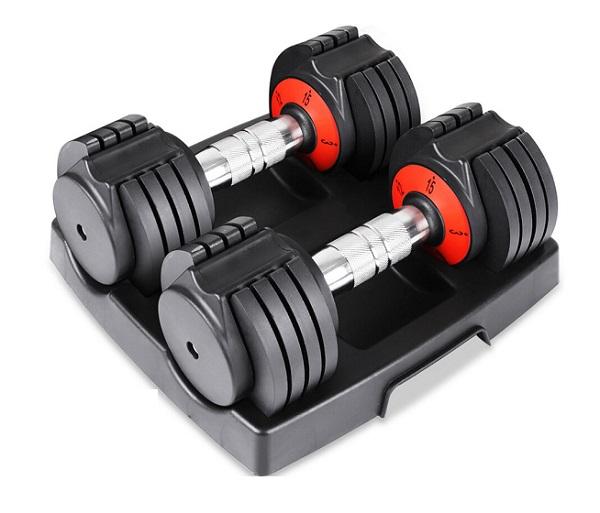 Dripex 30lb pair Adjustable Dumbbells