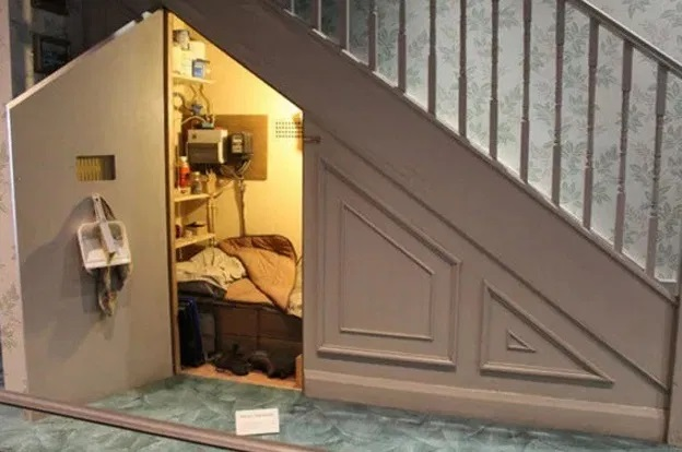 Bedroom Under Staircase