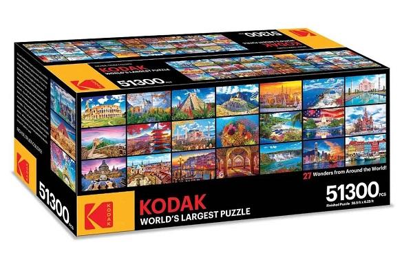 Kodak 70 Wonders - 51,300 Puzzle Pieces