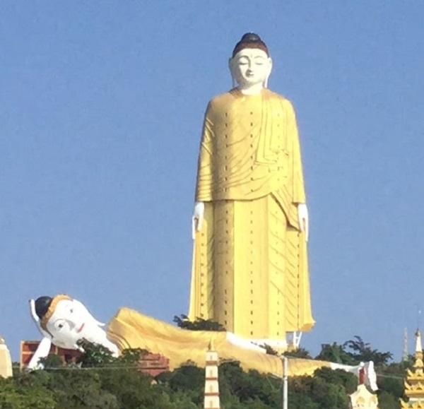 Laykyun Sekkya, Myanmar - Height: 115.8m (380ft)