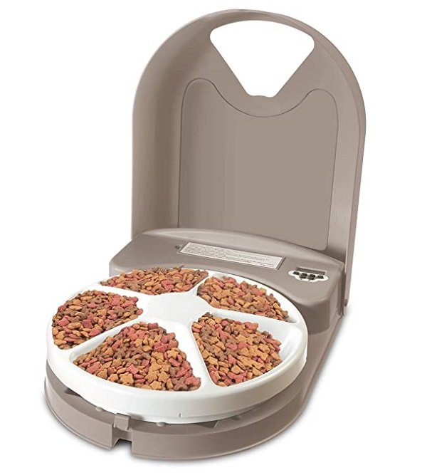 Petsafe 5 Meal Compartment Automatic Feeder