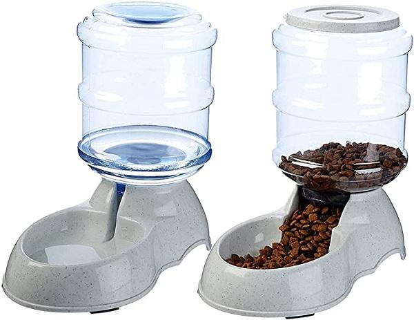 Noodoky Gravity Dispenser Pet Feeder And Waterer