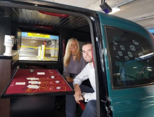Casino In a Taxi