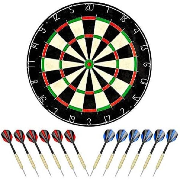 LinkVisions Dartboard With Staple Free Bullseye