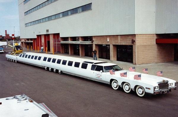 26-Wheeled Limousine