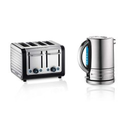 Toptopdeal Dualit 4 Slot Architect Toaster, 72905 Kettle,1.5L