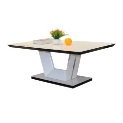 JYMTOM-Coffee-Table-Side-Table-Marble-Effect-End-Table-Centre-Table-with-Stainless-Steel-Base.