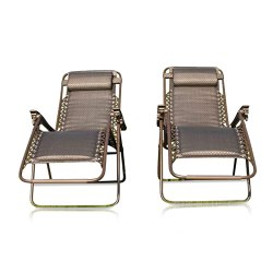 Toptopdeal-Garden-Market-Place-Set-of-2-Padded-Garden-Sun-Lounger-Relaxer-Recliner-Chairs