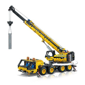 Toptopdeal-LEGO-42108-Technic-Mobile-Crane-Truck-Toy,-Construction-Vehicles-Building-Set