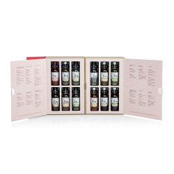 Toptopdeal-Edinburgh-Gin,-12-x-5cl-Flavoured-Gin,-Storybook-Presentation-Gin-Gift-Set