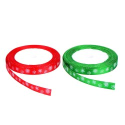 Toptopdeal-Total-40-Meters-(10-mm-Wide)-Christmas-Satin-Ribbon
