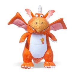 Toptopdeal-Zog-the-dragon-9inch-Plush-Soft-Toy,-Orange