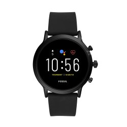 Toptopdeal-Fossil-Men's-Touchscreen-Smartwatch-with-Speaker,-Heart-Rate,-GPS,-NFC,-and-Smartphone-Notifications