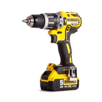 toptopdeal-Dewalt DCD796P1-GB XR Brushless Compact Lithium-Ion Combi Drill 18 V Yellow Black One Size
