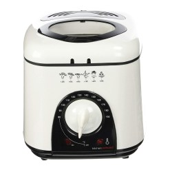 toptopdeal Lloytron E6010WI Kitchen Perfected Compact Deep Fryer, 1 Litre