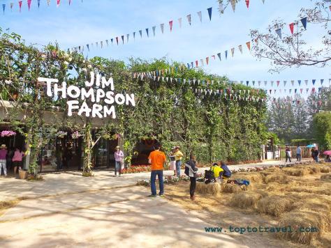 บริเวณด้านหน้า Jim Thompson Farm