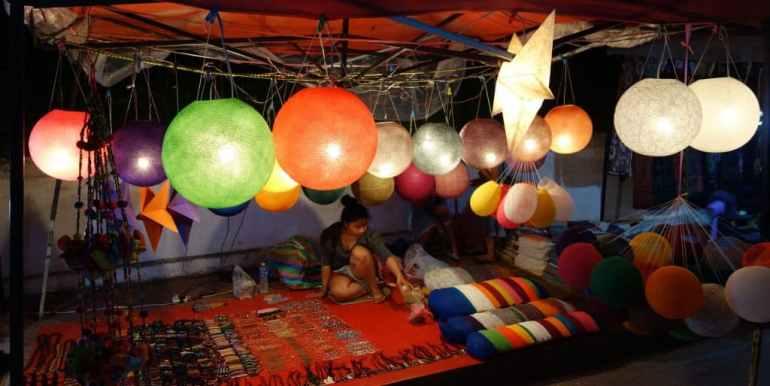Night market, Luang Prabang, Laos