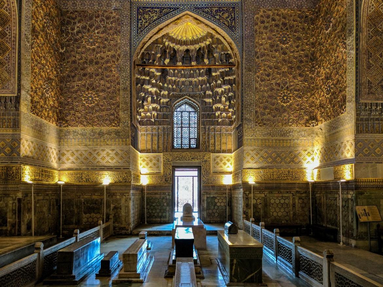 Gur-e Amir, the mausoleum of Timur in Samarkand, Uzbekistan