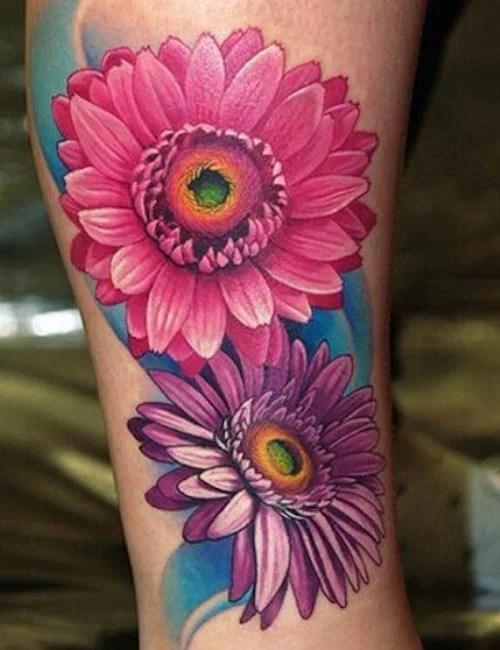 Beautiful Flower Tattoos