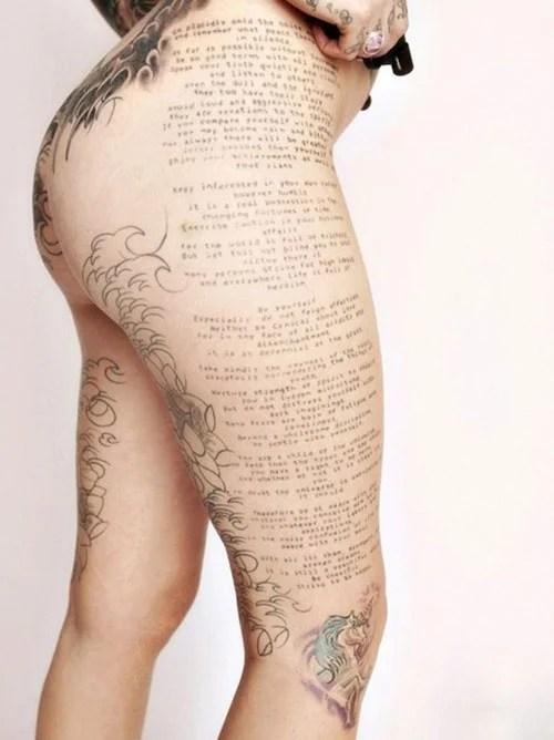 Best Thigh Tattoo Designs For Women