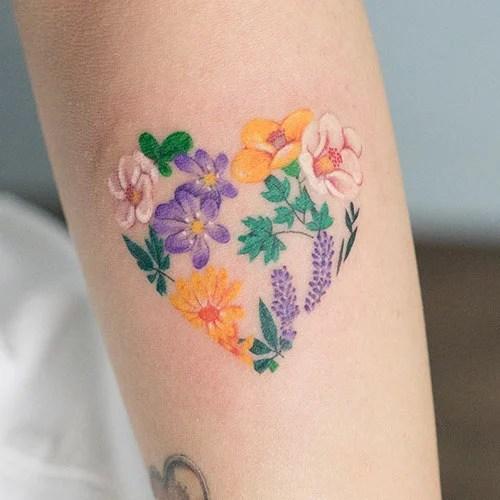 Cool Flower Tattoo Ideas