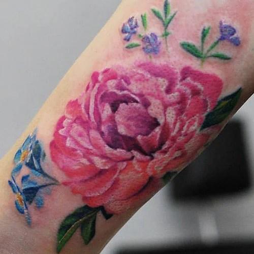 Japanese Flower Tattoo Designs