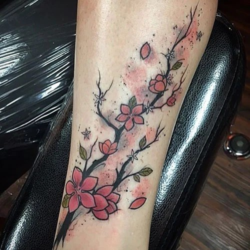 Pretty Flower Tattoo Ideas