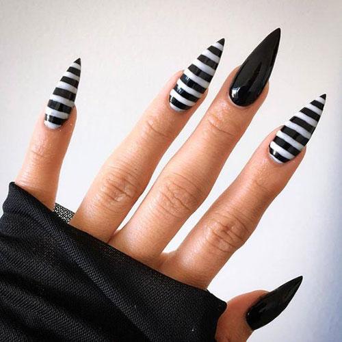 Cute Stiletto Nail Ideas