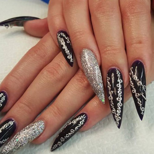 Long Pointy Nails